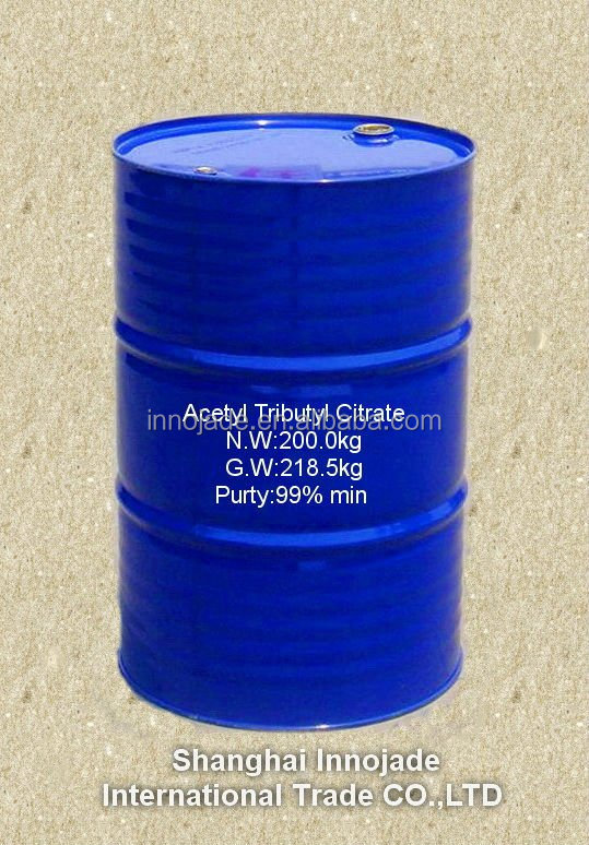 high purity Acetyl Tributyl Citrate ATBC 77-90-7 used as cellulose resin and synthetic rubber