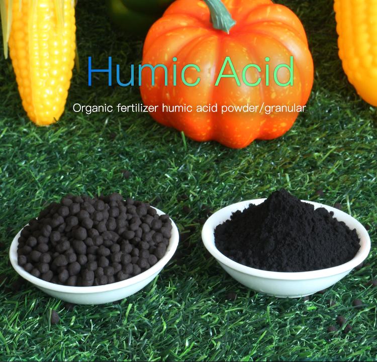 ¡El mejor precio! 1415-93-6 polvo fertilizantes de ácido húmico/sodio Humate/humato de potasio