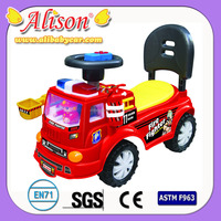 Hot baby boy car Alison C30229 mini plastic cars sliding baby carriage