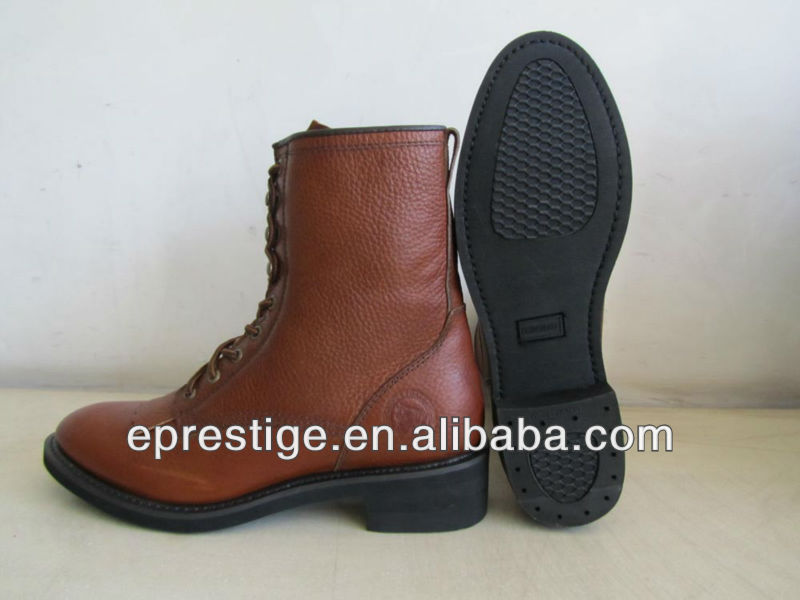 leather horse riding boot