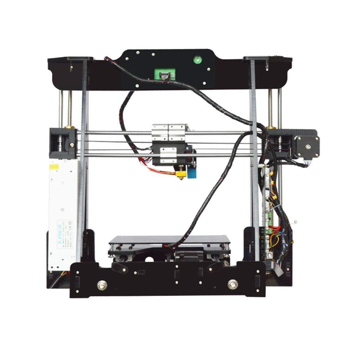 Portable DIY 3D Printer Kits Educational Desktop 3D Printer Print Size 220x220x240mm Full Metal Kits