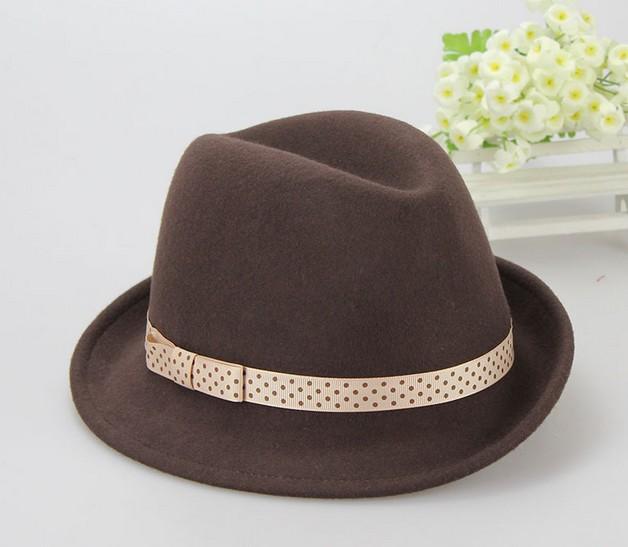 Tinggi Qualtiy Kustom Mode Klasik Wol Fedora Topi Untuk Pria - Buy ... 8b8422378d