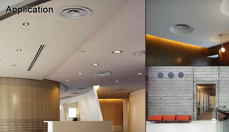 air conditioning aluminum vent covers round ceiling diffuser - buy