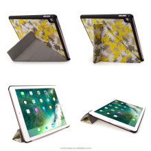 PU leather case for iPad air 1 Origami With digital printing/TTO/silk-screen and with hard pc back cover case