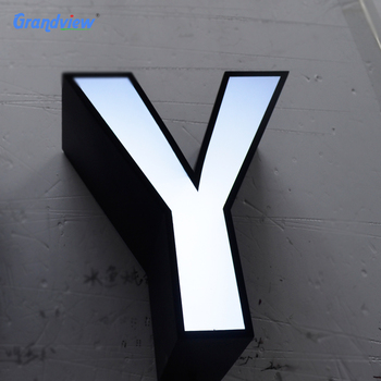 lighted letter signs. Customized Outdoor Lighted Acrylic Letter Store Name Signs R