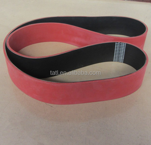 Rubber/Nylon flat conveyor belt