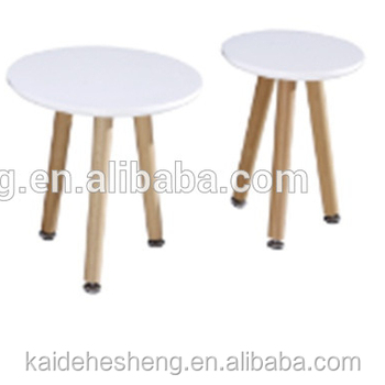Simple Designed Triangle Glass Table Wood Table Legs Buy