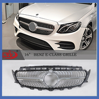 New Product Car Accessory Star-style Benzgrille For E-class 2016 ...