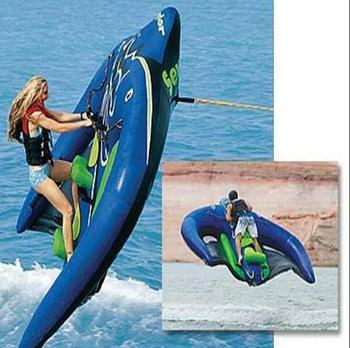 Hot Towable Inflatable Flying Manta Ray Water Sport Tubetowable