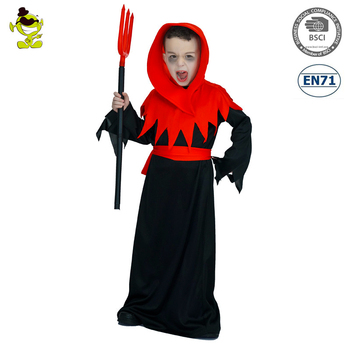 New Design Boys Horror Devil Costumes with Red Hood Kids Halloween Masquerade Party Evil Demon Cosplay  sc 1 st  Alibaba & New Design Boys Horror Devil Costumes With Red Hood Kids Halloween ...