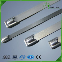 Zhe Jin High Quality Cheap Price PVC Coated Reusable Stainless Steel Cable Tie