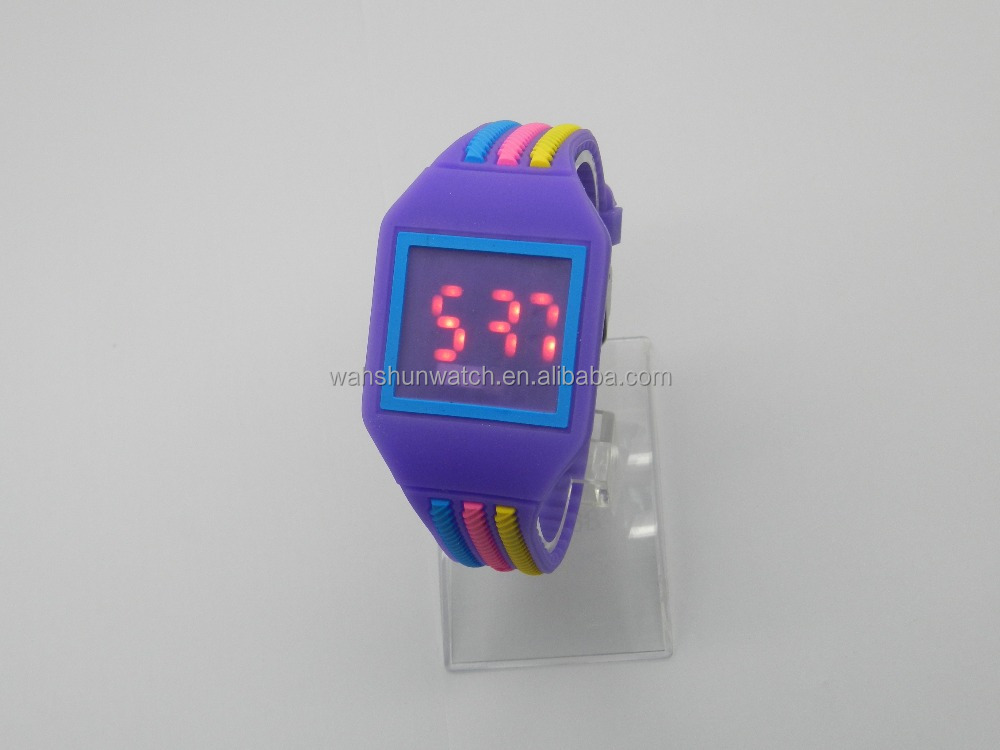 OEM wholesale silicon strap sport watch cheap roles watch custom logo