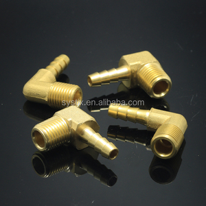 "High quality threaded 1/2"" 1"" 3/4"" all size brass elbow"