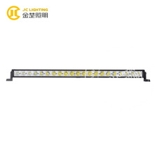 29 inch 105w multi color led light bar for vehicles/atv/suv/police car/communication vehicle/4x4 mini tractor, cree led lights
