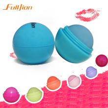 Bola Lip Balm Batom, Protetor Labial Sabor Doce de Frutas Ingredientes Orgânicos Embelezar Batom Gloss para a boca para lábio