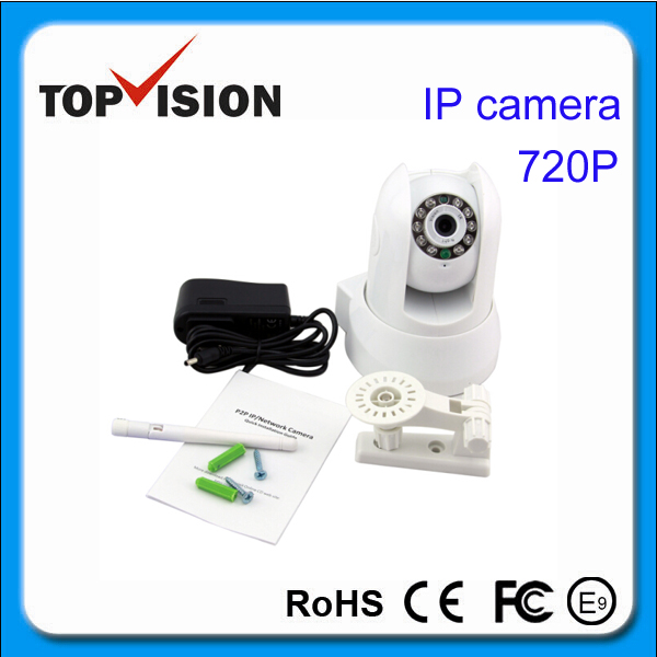 HD 720P CCTV Security IP Camera With WPS 24 Hours Recording