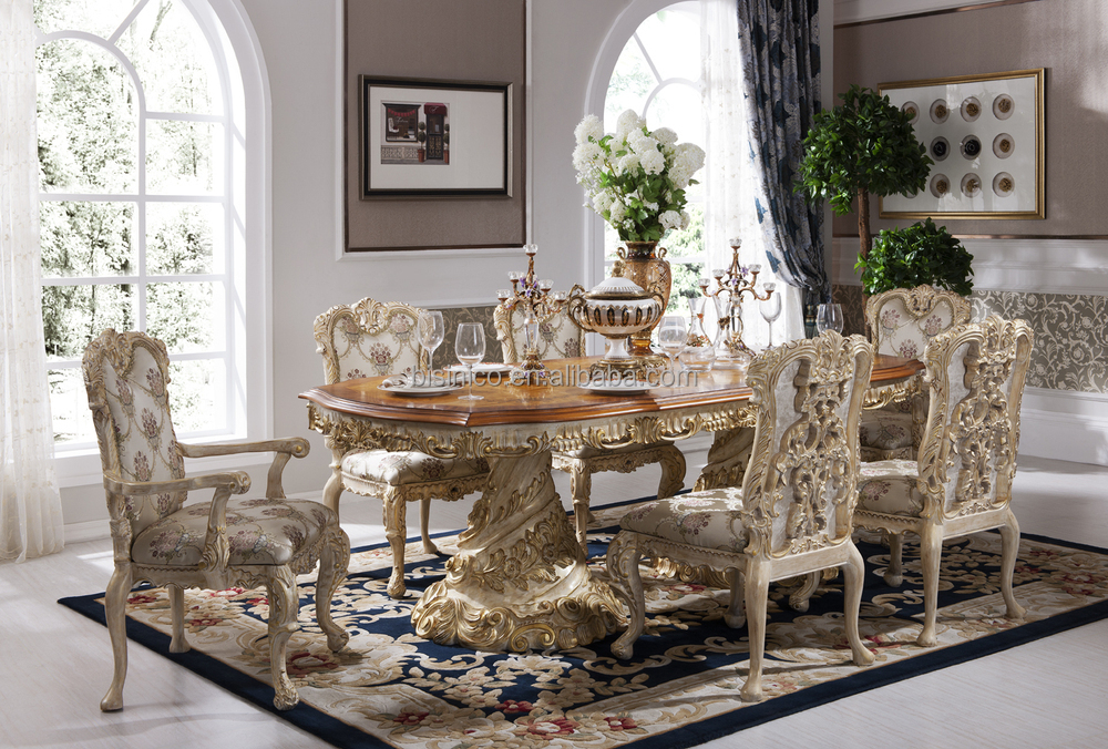 Baroque Antique Style Italian Dining Table 100 Solid Wood Italy Style Luxury Dining Table Set Buy Baroque Dining Table Dining Table Set Italian Luxury Table Product On Alibaba Com
