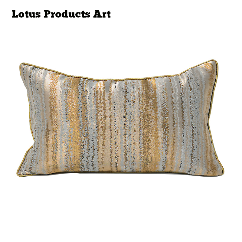 Online Shop China Sedan Use Golden Color Quilted Euro Shams Wholesale Bamboo Pillow
