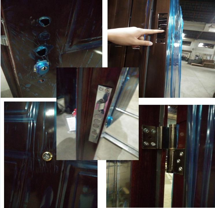 2016 Exterior Steel Security Doors For Building Suppliers China Buy Steel S