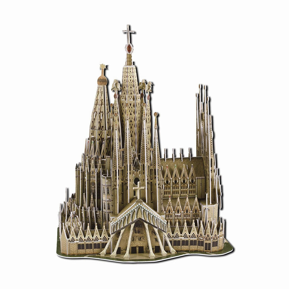 Michael/'s Cathedral from bell tower 3D puzzle paper Ukraine Buliding model St