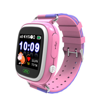 63446399948 DFTD02 Children s smart watch 1.22 color screen touch screen telephone GPS  WIFI positioning watch waterproof