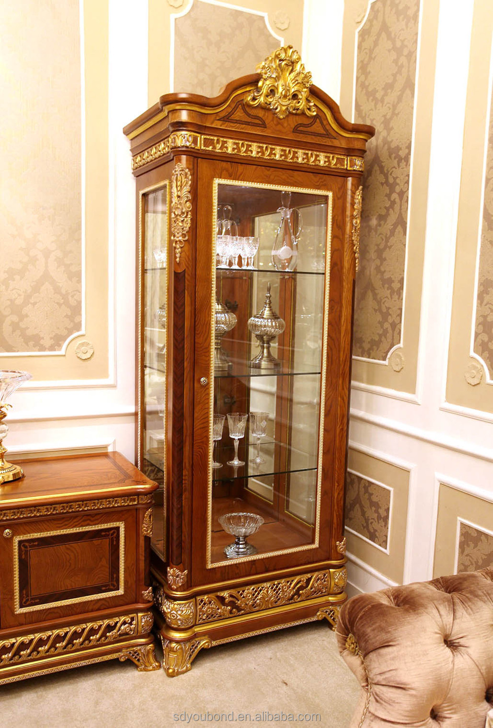 2015 luxury living room showcase design 0062 antique wooden and glass showcase buy glass