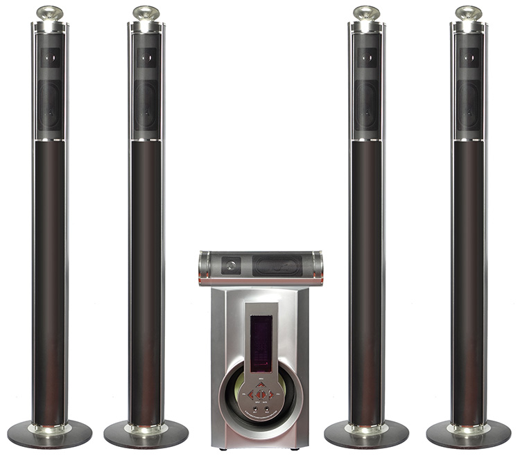 home theater wireless. jr-5505 5.1 wireless speakers surround home theater i