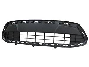 Get Quotations  C B Front Grille Ford Fiesta Center Bumper Griile Dark Gray Se Models With Fuel