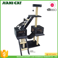 Alibaba Express Good Quality Deluxe Cat Tree