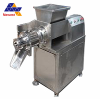 Good quality stainless steel poultry deboner machine/chicken bone meat separator/poultry meat and bone separator