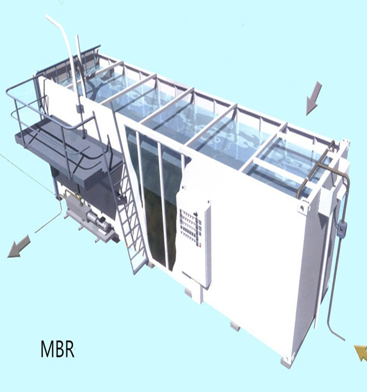 containerized mbr wastewater treatment plant for laundry ...