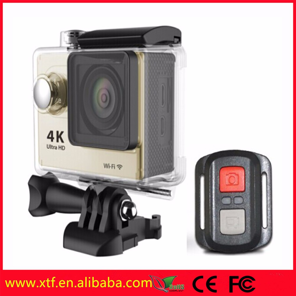 Factory 4k action camera waterproof wifi bike action cam