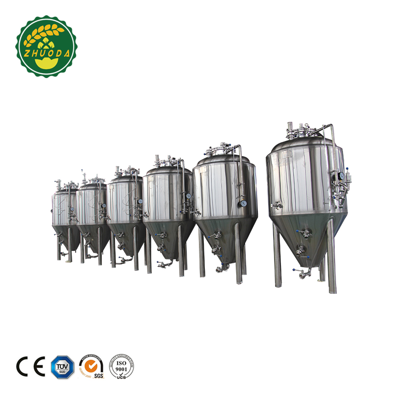 China factory price 500L micro beer brewing machine/beer fermenter tanks
