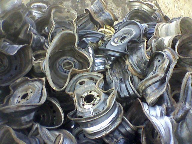 Crushed Steel Wheels