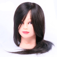 Salon Human Hair Hairdressing Practice Head Mannequin Training Tool