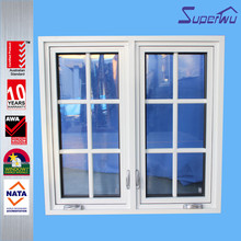 American popular style mullion casement sash aluminum window