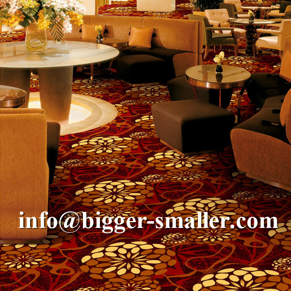 Wilton floral pattern wall to wall carpet