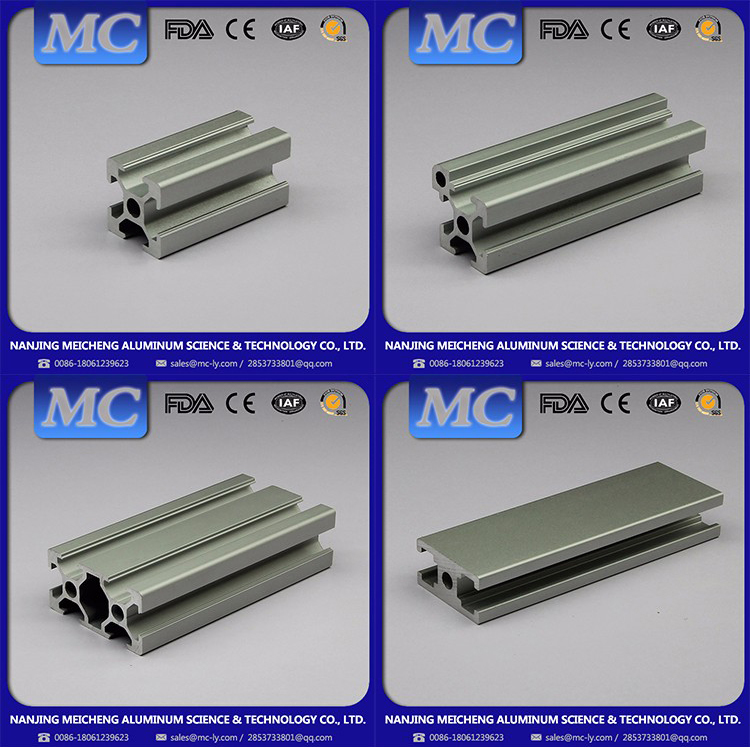 Meicheng Professional Design Easy to Clean support u bracket aluminum profile