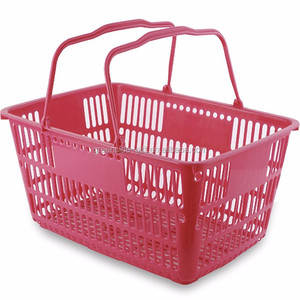 d5aa48cd89bd Cheap wholesale waterproof supermarket shopping plastic folding basket