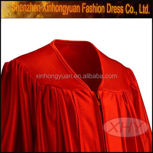 Baccalaureate Gown Uniform Graduation Uniform Red Color - Buy ...