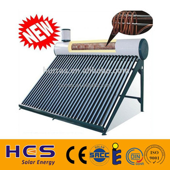 2015 Pre-heated Copper Coil Solar Water Heater Gravity Closed Loop ...