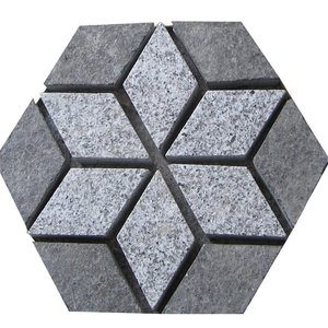 Wholesale Low Price Granite Hexagon Paving Stone