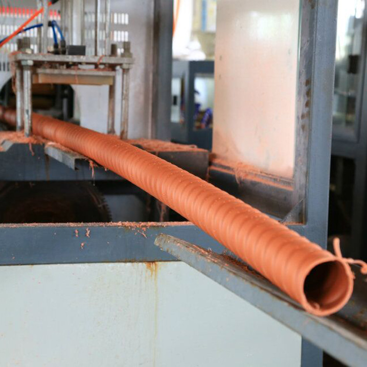 Moderate price! HDPE material prime quality plastic corrugated pipe for concrete project
