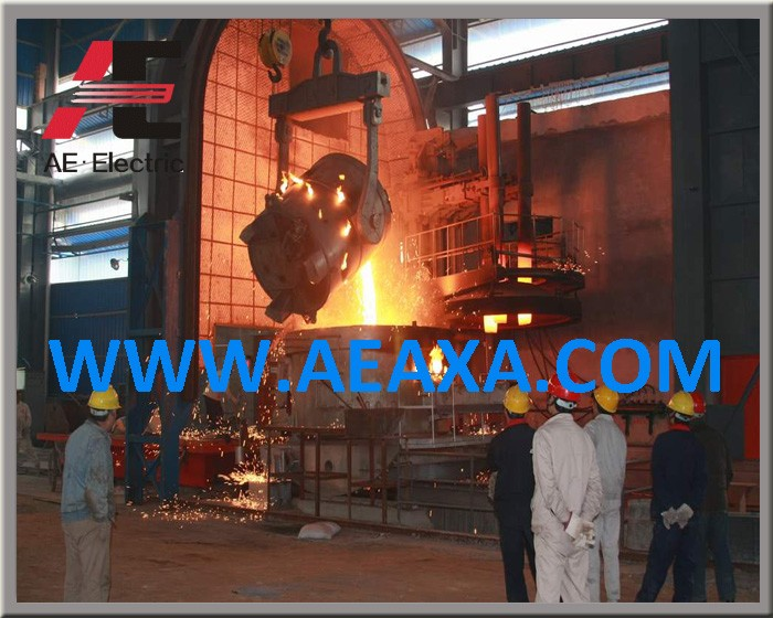Ac Eaf Electric Arc Furnace For Steel Making Capacity From 5tons ...