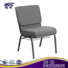 quality guarantee religion furniture have connectable stacking church chair