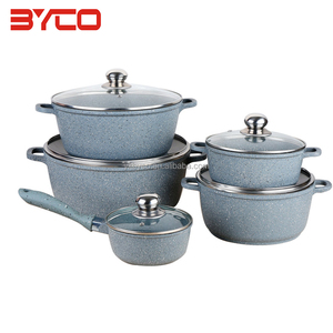 Made In China aluminum non-stick Cookware Set for Kitchen