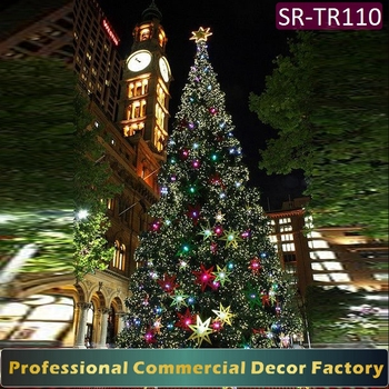Customize 41ft 44ft 47ft Outdoor Large Giant Christmas Tree With