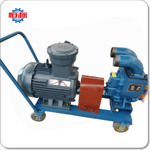 Electric gear horizontal cast iron diesel oil transfer pump