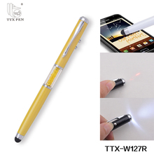 Jiangxi metal material laser pointer 4in1 touch pen