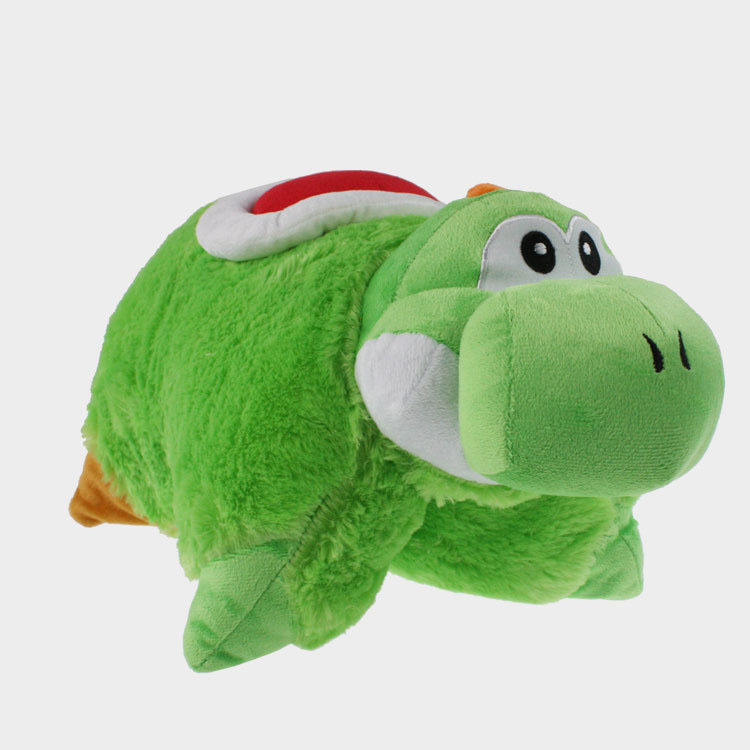 42*30cm Large Size Green Color Super Mario Hesperosaurus Long Bolster Pillow A Nice Bed Bolster